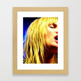 Wild Gracie Framed Art Print