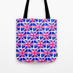Watercolour Union Jack  Tote Bag