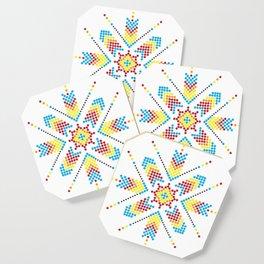 Asterisk Coaster