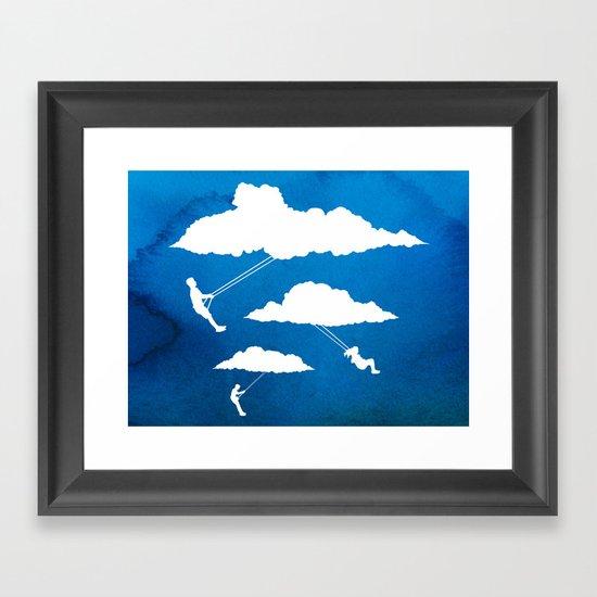In Full Swing Framed Art Print