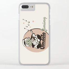 Ukelele Jiminy Clear iPhone Case