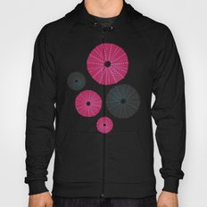Sea's Design - Urchin Skeleton (Pink & Black) Hoody