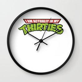 thirties Wall Clock