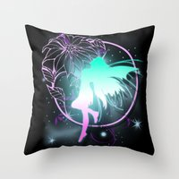 fairy Throw Pillows featuring Fairy by Augustinet
