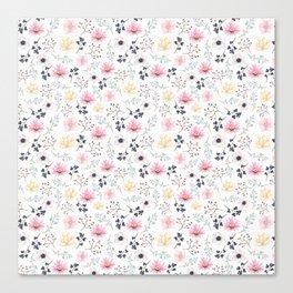 Elegant Floral Canvas Print