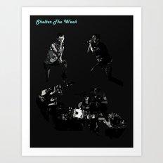 Shelter The Weak Band Art Print