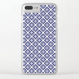 Shibori II Clear iPhone Case