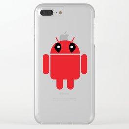 Deaddroid Clear iPhone Case