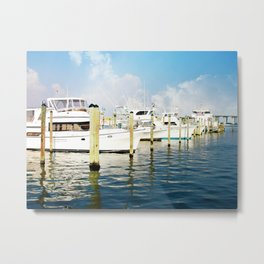 Destin Boats 1 Metal Print