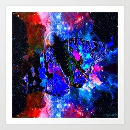 CELESTIAL BUTTERFLY 2 Art Print