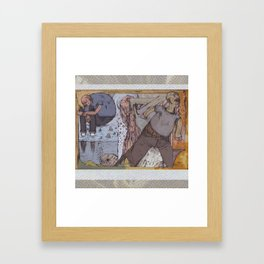 badfish>sadboy Framed Art Print