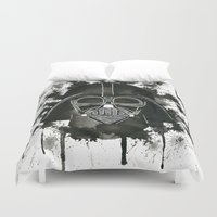 dark side Duvet Covers featuring Dark side by Gilles Bosquet