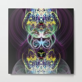 Frequency Being Series: 01 Metal Print