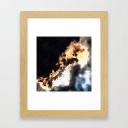 Revelation Of The Horror Framed Art Print