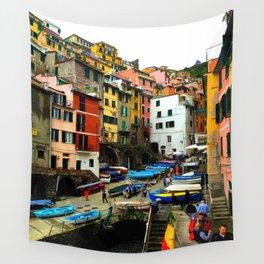 Cinque Terre - Riomaggiore Wall Tapestry