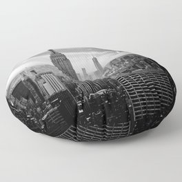 Empire State Building, New York City Floor Pillow