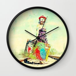Woman of Strength Wall Clock
