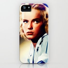 Anne Francis, Vintage Actress iPhone Case
