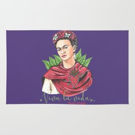 Frida Viva la vida Rug