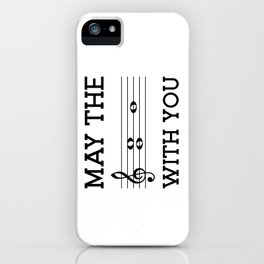 May the 4th be with you (light colors) iPhone Case