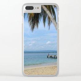 Isle of San Blas PANAMA - the Caribbeans Clear iPhone Case