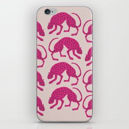 Wild Cats - Pink iPhone Skin