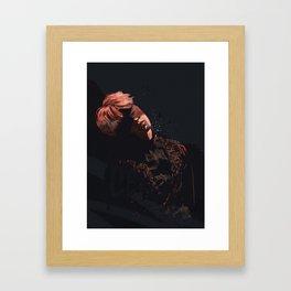 caught_in_a_lie.jpg Framed Art Print