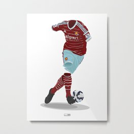 West Ham United 2014-15  Metal Print