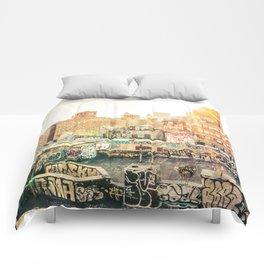 New York City Graffiti Comforters
