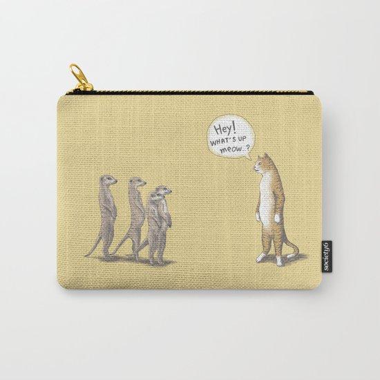 Cat & Meerkats Carry-All Pouch