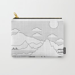 Mountains and Lines Carry-All Pouch