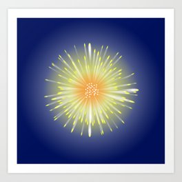 Celebration Firework Art Print