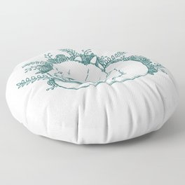 Wittle Wabbit Floor Pillow