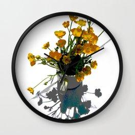 BUTTERCUPS Wall Clock