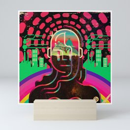 Gaia's Dome Mini Art Print