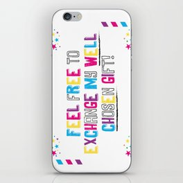 Sarcasm is coming to town!  iPhone Skin
