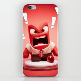"""ANGER"" iPhone Skin"