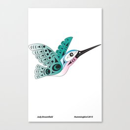 Hummingbird by: Jody Broomfield Canvas Print