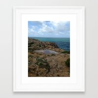 portugal Framed Art Prints featuring Portugal by Abby Brown