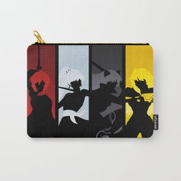 Silhouetted Huntresses Carry-All Pouch