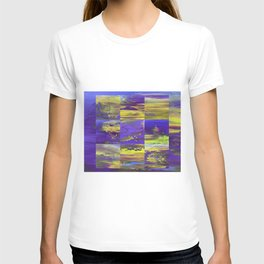 Dive In Dive Ine in a purple melody T-shirt
