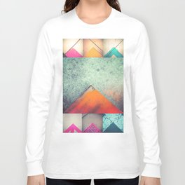 Bright Triangles Long Sleeve T-shirt