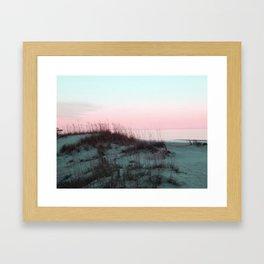 Sunrise Over Kill Devil Hills, NC Framed Art Print