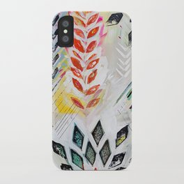 """Holocene"" Original Painting by Flora Bowley iPhone Case"