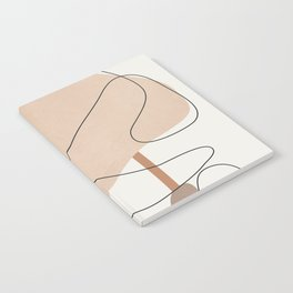 Abstract Line Movement III Notebook