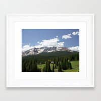 colorado Framed Art Prints featuring Colorado by America Yall