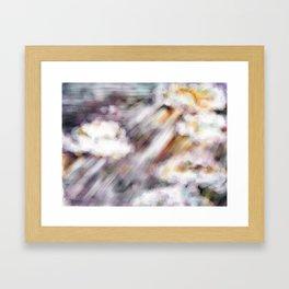 Cloud of Witnesses Framed Art Print