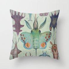 Cephalopodoptera Tab. I Throw Pillow