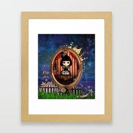 Night of Circus Framed Art Print