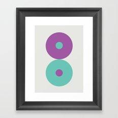 Shape series 2  Framed Art Print
